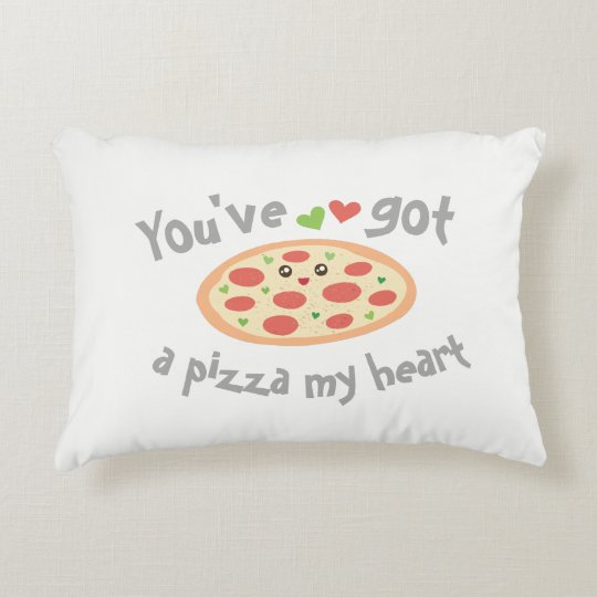 U hebt een Pizza Mijn Woordspeling van de Liefde Accent Kussen
