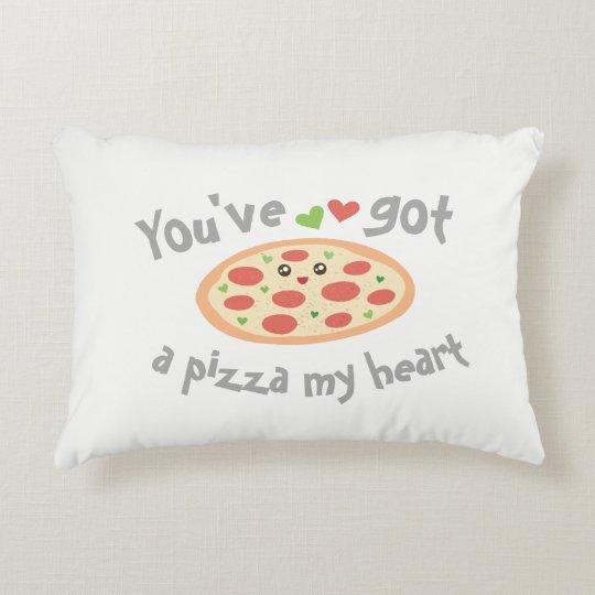U hebt een Pizza Mijn Woordspeling van de Liefde Decoratief Kussen