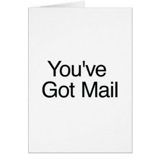 U hebt Post Kaart