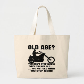 U houdt niet op berijdend wanneer u u Oud wordt Ou Tas