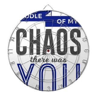 U in de Chaos Dartbord