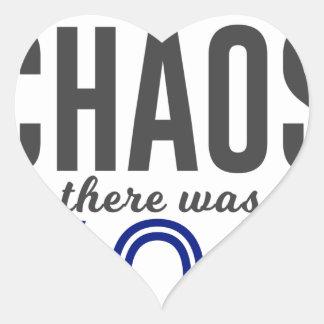 U in de Chaos Hart Sticker