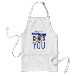 U in de Chaos Standaard Schort