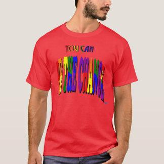 U kunt de Donkere T-shirt van de Verandering zijn