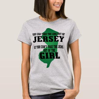 U kunt het meisje uit Jersey nemen…. T Shirt