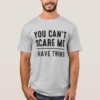 U kunt niet me doen schrikken, heb ik de T-shirt