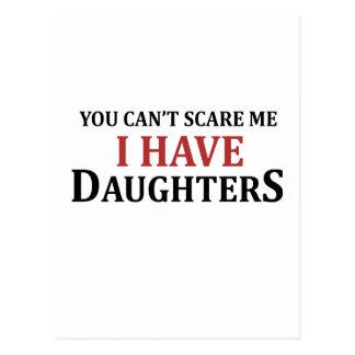 U kunt niet me doen schrikken ik hebt Dochters Briefkaart