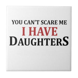 U kunt niet me doen schrikken ik hebt Dochters Tegeltje