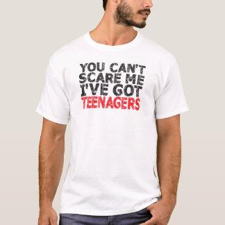 u kunt niet me doen schrikken ik hebt tieners t shirt