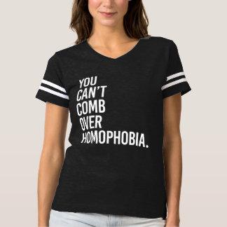 U KUNT NIET OVER HOMOPHOBIA KAMMEN - - WIT - T SHIRTS