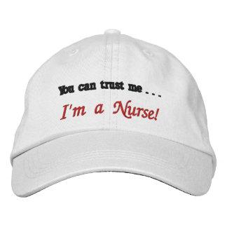 U kunt op me vertrouwen. Ik ben een Verpleegster! Pet