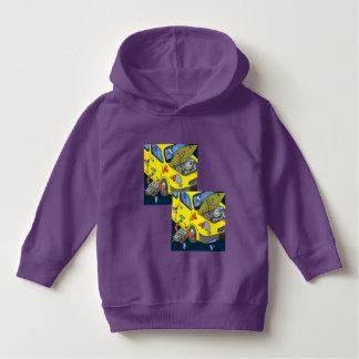 U ❤️ Luv van Luv me auto gekke paarse hoodie door