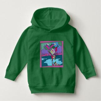 U ❤️ Luv van Luv me groene hoodie door DAL