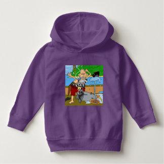 U ❤️ Luv van Luv me piraat paarse hoodie door DAL