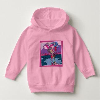 U ❤️ Luv van Luv me roze peuter hoodie door DAL