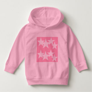 U ❤️ Luv van Luv me sterren op roze hoodie door