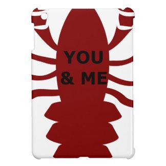 U & me bent Zeekreeften Hoesje Voor iPad Mini