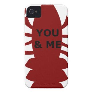 U & me bent Zeekreeften iPhone 4 Hoesje