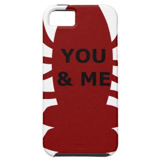 U & me bent Zeekreeften Tough iPhone 5 Hoesje