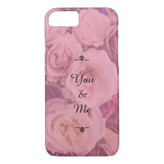 """""""U & me"""" Romantische Rozen iPhone 7 Hoesje"""