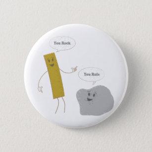 Positief Spreuk Buttons Zazzlenl