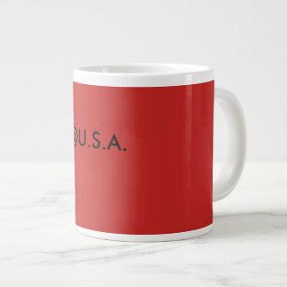 @U.S.A. coffe grote coffemok Grote Koffiekop
