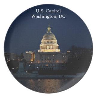 U.S. Capitool, Washington, het HerdenkingsBord van Melamine+bord