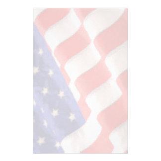 U.S. De Kantoorbehoeften van de vlag Briefpapier