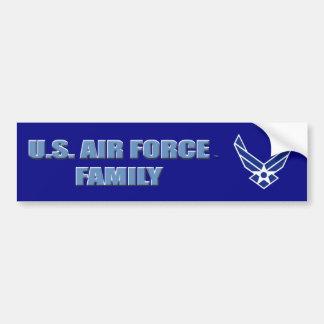 U.S. De Sticker van de Bumper van de Familie van Bumpersticker