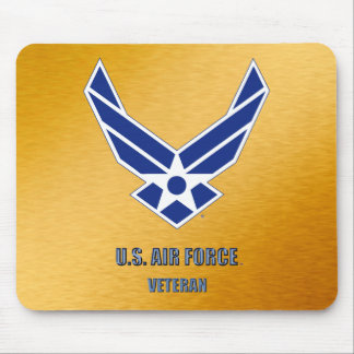 U.S. De Veteraan Mousepad van de Luchtmacht Muismat