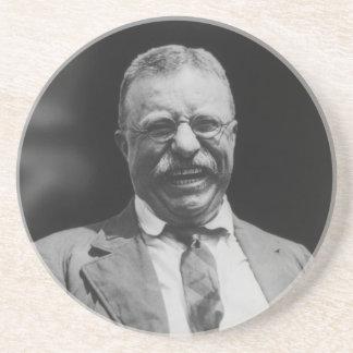 U.S. Het Lachen van Theodorus II Teddy Roosevelt Zandsteen Onderzetter