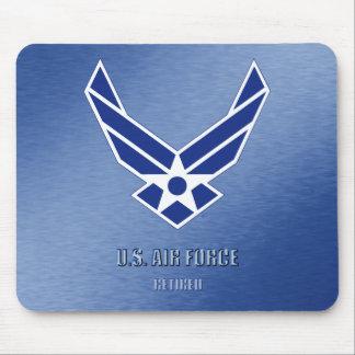 U.S. Luchtmacht Teruggetrokken Mousepad Muismat