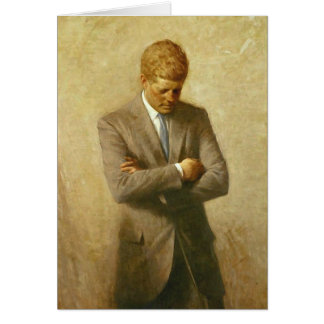 U.S. President John F. Kennedy door Aaron Shikler Briefkaarten 0