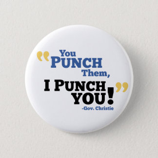 U slaat hen, sla ik u! ronde button 5,7 cm