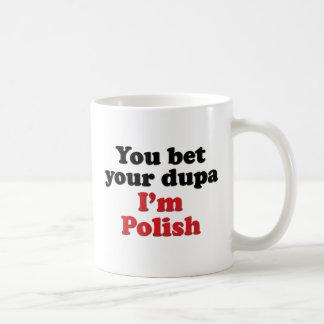 U wedt Uw Dupa ik Pools ben Koffiemok