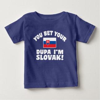 U wedt Uw Dupa ik Slowaaks ben Baby T Shirts