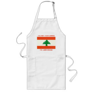 U wedt Uw Kibbee ik Libanees ben! Lang Schort