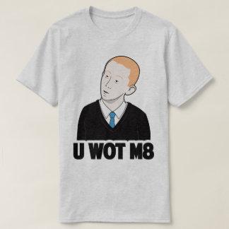 U WEET M8 u Welk T-shirt van Internet Meme van de