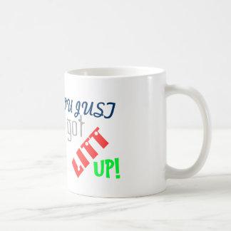 U werd omhoog enkel Litt! Koffiemok
