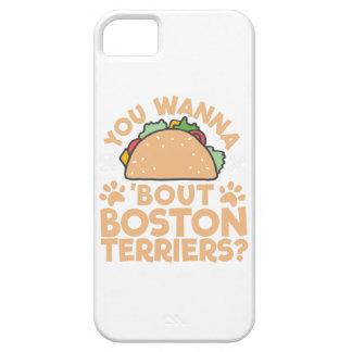 U wilt aan de Periode Boston Terriers van de Taco? Barely There iPhone 5 Hoesje