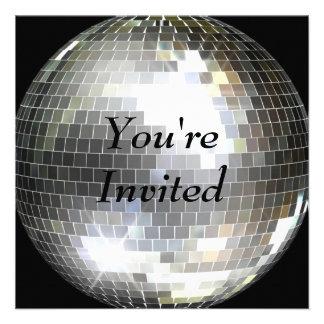 U wordt uitgenodigd - de Bal van de Disco Persoonlijke Uitnodigingen
