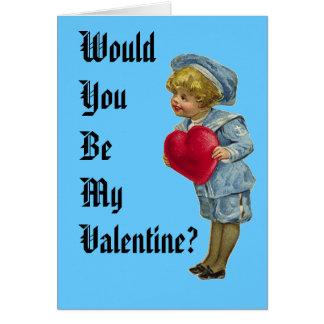U zou Mijn Valentijn zijn? Briefkaarten 0