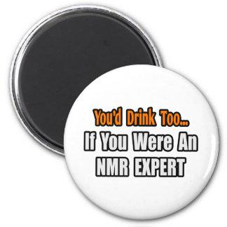 U zou… ook NMR Deskundige drink Koelkast Magneetje
