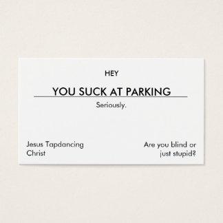 U zuigt bij parkeren. (maak [ER] versie schoon)