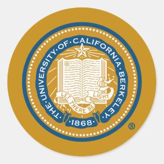 UC de Verbinding van de School van Berkeley Ronde Sticker