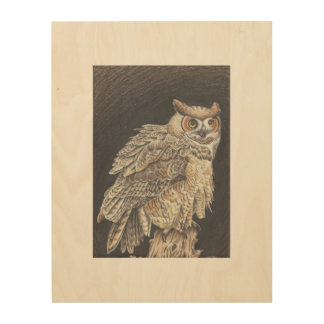 Uil Hout Prints