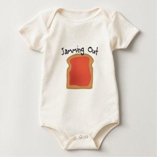 Uit het blokkeren baby shirt