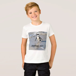 Uit het stappen!  Penquin T Shirt