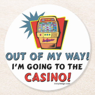 Uit Mijn Casino van de Manier Ronde Onderzetter