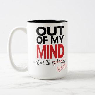 Uit Mijn Mening - Achter overval nooit Tweekleurige Koffiemok